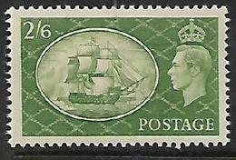 Great Britain George VI, 1951, 2.6,  MH *, Gum Tone, Hinge Remnant, - 1902-1951 (Könige)