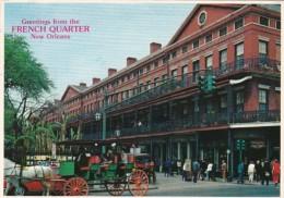 Louisiana New Orleans Pontalba Apartments