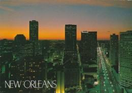 Louisiana New Orleans Skyline At Dusk