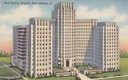 Louisiana New Orleans The New Charity Hospital Curteich