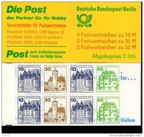 Markenheftchen 11 G Berlin Burgen Und Schlösser Postfrisch ** MNH - Markenheftchen