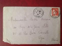 Cachet Perlé 26 PIEGROS LA CLASTRE - Storia Postale