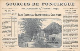 09.LABASTIDE SUR L'HERS SOURCES DE FONCIRQUE CP PUB - Autres Communes