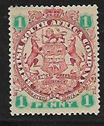Rhodesia / B.S.A.Co., 1896 - 7 1dunused, No Cancel, No Gum. - Southern Rhodesia (...-1964)