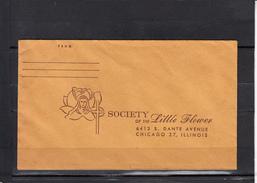 CHICAGO 37  ILLINOIS   USA   Society  Off The LITTLE FLOWER  Enveloppe Reponse - Etats-Unis