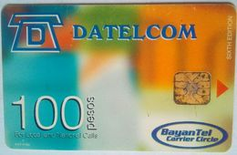 Philippines Phonecard Bayan Tel 100 Pesos Datelcom - Philippines