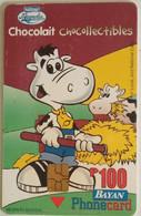 Philippines Phonecard Bayan Tel Chocolait 100 Pesos - Philippines