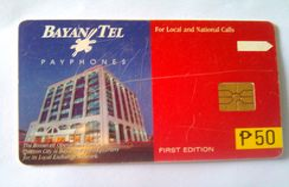 Philippines Phonecard Bayan Tel 50 Pesos First Edition - Philippines
