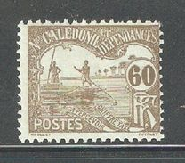 New Caledonia 1906,Postage Due,60c,Scott J15,VF MH*OG (FC-4) - New Caledonia