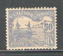 New Caledonia 1906,Postage Due,50c,Scott J14,VF MH*OG (FC-4) - Postage Due