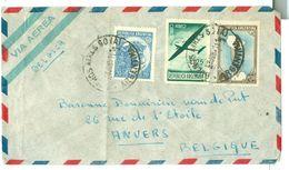 ARGENTINIE BRIEFOMSLAG Uit 1952 Gelopen Van BUENOS AIRES Naar ANVERS BELGIE  (10.644b) - Argentinië