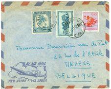 ARGENTINIE BRIEFOMSLAG Uit 1952 Gelopen Van BUENOS AIRES Naar ANVERS BELGIE  (10.644c) - Argentinië