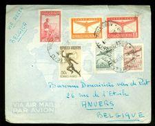 ARGENTINIE BRIEFOMSLAG Uit 1952 Gelopen Van BUENOS AIRES Naar ANVERS BELGIE  (10.644g) - Argentinië