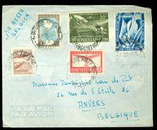 ARGENTINIE BRIEFOMSLAG Uit 1952 Gelopen Van BUENOS AIRES Naar ANVERS BELGIE  (10.644h) - Argentinië