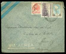 ARGENTINIE BRIEFOMSLAG Uit 1952 Gelopen Van BUENOS AIRES Naar ANVERS BELGIE  (10.644i) - Argentinië