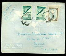 ARGENTINIE BRIEFOMSLAG Uit 1952 Gelopen Van BUENOS AIRES Naar ANVERS BELGIE  (10.644j) - Argentinië