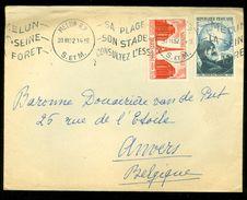 ARGENTINIE BRIEFOMSLAG Uit 1952 Gelopen Van BUENOS AIRES Naar ANVERS BELGIE  (10.644k) - Argentinië