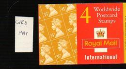 Gb-b020 Grande Bretagne Carnet GK6  Machin  Mint ** - Booklets