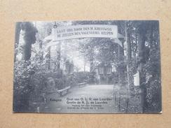 Grot Van O.L.V Van Lourdes Ingang Tot Den Kruisweg () Anno 19?9 ( Zie Foto Voor Details ) ! - Edegem