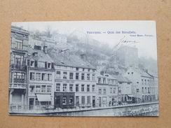 Quai Des Récollets ( Grand Bazar ) Anno 1906 ( Zie Foto Voor Details ) ! - Verviers