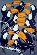 Toucans - Carte Photo Moderne - Oiseaux
