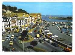 64 CIBOURE N°8801 Quai Maurice Ravel Pont De Larraldéria En 1982 Voir ZOOM SOLEX Citroën GS Dyane Jagaur Mercedes - Ciboure