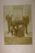 Baileux Famille Tante Augustine Salmon Photo Sur Carton - Lieux