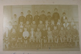 Couvin Groupe D'écoliers 1. François Courthéoux... Photo Sur Carton - Lieux
