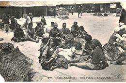 CPA N°4723 - LOT DE 3 CARTES JEYPORE + BENARES + PONDICHERY - LES 3 AVEC DEFAUT - India