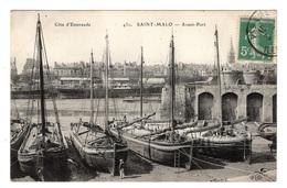 35 ILLE ET VILAINE - SAINT MALO Avant-port (voir Descriptif) - Saint Malo