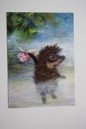 Fedorova -  Hedgehog In The Fog - Modern Postcard - Igel Herisson - Other