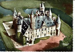 BORNEM-KASTEEL DE MARNIX St ALDEGONDE-LUCHTOPNAME - Bornem