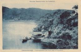 CPA - Chacachacare - L'embarquement Des Soeurs Pour La Léproserie - Trinidad