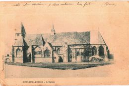 CPA N°4734 - DUN SUR AURON - L' EGLISE - Dun-sur-Auron