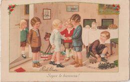Enfants Jouets Train Cheval à Bascule Soyez Les Bienvenus !  éditeur AR Dans Cercle Et BD Ou ED Dos Scanné - Ebner, Pauli