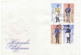 DDR 1986 FDC,  Mi.Nr. 2997-3000 II, Ungelaufen - [6] Repubblica Democratica