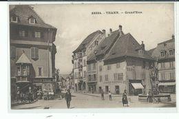 68 THANN Grand Rue ,façade Librairie Tabac , Fontaine - Thann