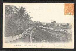 DAKAR Jardin Public Et Plage Sénégal (Fortier N° 9) - Sénégal