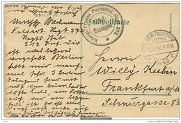 Allemagne - Empire 14/18, Entier Postal  De Prusse Vers Frankfurt Du 08/10/16, Voir Scan - Deutschland