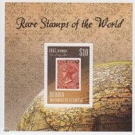 BEQUIA GRENADINES 2014 ** Rare Stamps Of The World Seltene Briefmarken S/S - OFFICIAL ISSUE - DH9999 - Briefmarken Auf Briefmarken