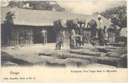 Congo Belge – Réception D'un Cargo Dans Le Mayumbe - Congo Belge - Autres