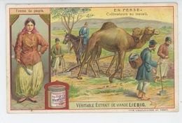 CHROMOS - LIEBIG - EN PERSE - Cultivateurs Au Travail - Liebig