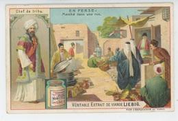 CHROMOS - LIEBIG - EN PERSE - Marché Dans Une Rue - Chef De Tribu - Liebig