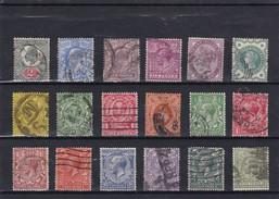Timbres  Grande Bretagne - Collections