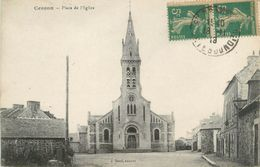 """CPA FRANCE 22 """"Cesson, Place De L'église"""" - Autres Communes"""