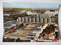 CPSM (95) RARE - ARGENTEUIL - LA CITE JOLIOT CURIE - AERIENNE - PHOTO VERITABLE AU BROMURE - COLOREE - EDIT LAPIE  R4085 - Argenteuil