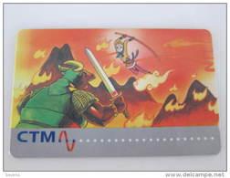 Macau GPT Magnetic Phonecard,26MACA Traditional Fairy,used - Macau