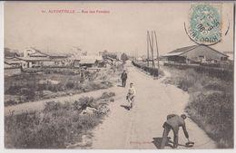 ALFORTVILLE : RUE DES PENSEES - UN JOUR DE GRAND VENT - ECRITE 1906 - 2 SCANS - - Alfortville