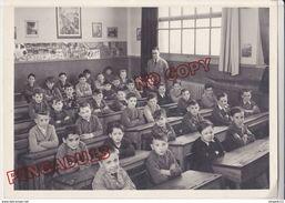 Au Plus Rapide Enseignement Enfant Une Classe En 1954 ! Beau Format 13 Par 18 Cm Très Bon état - Anonymous Persons