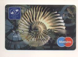 Credit Card UKRAINE Bankcard AVAL Bank Exp 07/2007 Maestro Shell Fauna - Carte Di Credito (scadenza Min. 10 Anni)